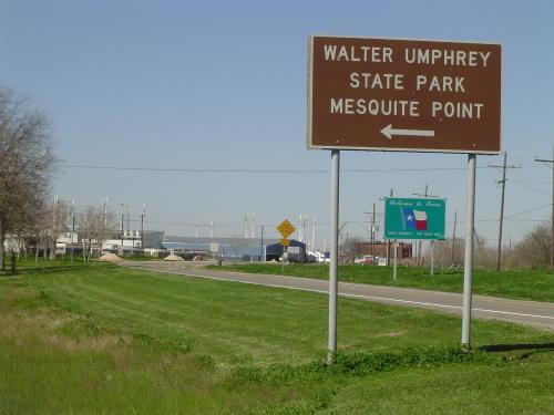 Walter Umphrey State Park On Pleasure Island In Port